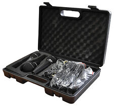 Soundlab Dynamic Premium Vocal Karaoke Kit with 3 Microphone Leads & Carry Case