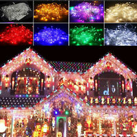 LED Festa Natale Stringa 10M 30M 50M 100M Luci Decor di Esterno Festa Matrimonio