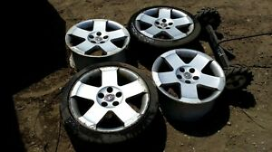"""Vauxhall Omega Elite Alloy Wheels And Tyres 17"""" 5x110 Zafira vectra astra"""