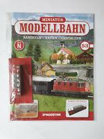 DeAgostini  Miniatur Modellbahn Spur N Nr.53  mit Heft   Neu/OVP