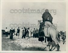 1966 Actors on Location For Christmas TV Special Christ Is Born Press Photo