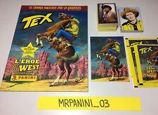 TEX Panini 2015 - ALBUM + Set Completo Figurine-stickers + Cards-Maxi-3 Bustine