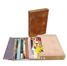 BCW Comic Book Stor-Folio Storage Portfolio Box Carrying Case - Brown Book Style