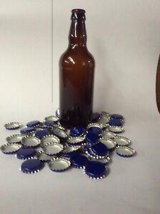 500ml  GLASS BEER / CIDER BOTTLES FOR HOMEBREW - BROWN - NEW  +++++++++ CAPS
