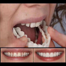 Upper False Fake Tooth Cover Snap On Instant Perfect Smile Cosmetic Denture Care