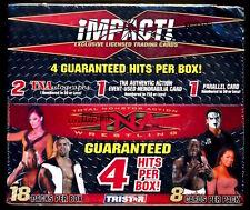 2008 TriStar TNA IMPACT Factory Sealed Wrestling Box ***(4) Hits Per Box***
