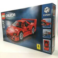 Lego creator expert Ferrari F40 construcción Set 10248 1158 piezas 100% Completo