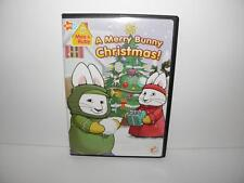 Nick Jr MAX & RUBY'S A MERRY BUNNY CHRISTMAS!  DVD w/ 12 Episodes