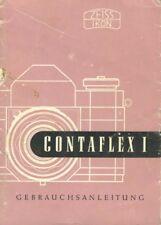 Zeiss Contaflex I Instruction Manual in German