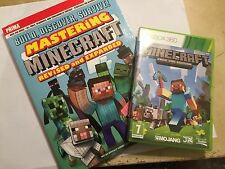 XBOX 360 GAME & PRIMA STRATEGY GUIDE MINECRAFT XBOX 360 EDITION COMPLETE PAL GWO