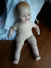 "Antique Baby Dimples Horsman Eih Co. Composition doll 17"""