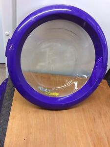 Dyson CR01 and CR02 Washing Machine inner Door  Complete In purple