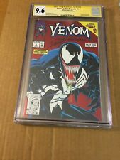 VENOM : LETHAL PROTECTOR # 1 CGC 9.6 Signed By MARK BAGLEY