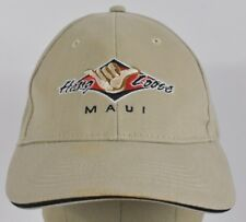 Beige Hang Loose Maui Island Souvenir Embroidered Baseball hat cap Fitted