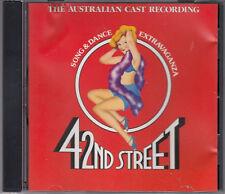 42nd Street : Australian Cast Recording CD FASTPOST