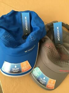 Baseball-Golf Caps-Two NEW (NWT) Mission Instant Cooling Caps/Unisex Hats
