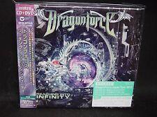 DRAGONFORCE Reaching Into Infinity + 3 JAPAN CD + DVD DragonHeart Karmaflow