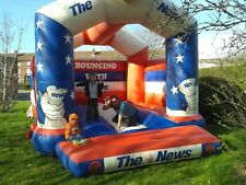 bouncy castle\\ reduced need space/////