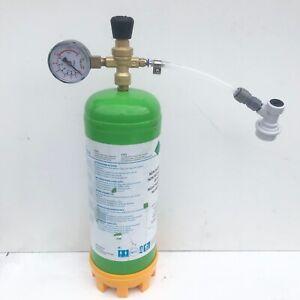 Nitrogen Cylinder Regulator Flow Range 0-12 L/M M10 Thread N2 Gas Hose Connector