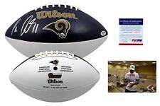 Tavon Austin SIGNED St. Louis Rams Football - PSA/DNA Autographed w/ Photo