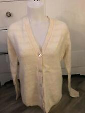 Vintage Pendleton Cardingan Knit Wool Sweater Women's Size 40