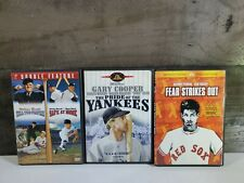 BASEBALL MOVIES: KILL THE UMPIRE AND SAFE AT HOME,FEAR STRIKES OUT AND YANKEES