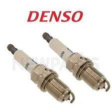 For Pair Set of 2 Spark Plug 0.4mm Electrode For Lexus Toyota Volvo Ford