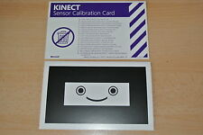 Replacement Official Xbox 360 Kinect Calibration Card **FREE UK POSTAGE!!**