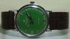 VINTAGE Favre Geneve Seachief Winding Watch Swiss STEEL r759 old Used Antique