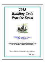 2015 International Building Code Practice Exam Book
