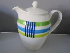 Rosenthal Casual Designers Guild sucrier Vert Bleu Rouge Sugar Bowl