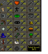 Oldschool Runescape Account - MAX Barrows Pure - Fully quested - Ready to PK