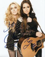 MEGAN AND LIZ group signed (MUSIC DUO) 8X10 photo *YOUTUBE* W/COA #1