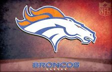 "Denver Broncos NFL American Football USA Sport Wall Poster 28"" x 18"""