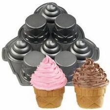 Wilton Dimensions Mini Ice Cream Cones Cake Pan 8 Cavities Non-Stick NEW