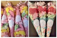 LARGE pre-filled • UNICORN • MERMAID • Sweet Cones   FAIRYLAND THEME   Party Bag