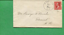 New Hampshire Cover- Hampton 1902 W/ Duplex Cancel S8520