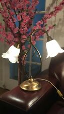 Gold Twin Lamp With Shades