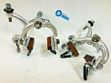 Vintage Campagnolo Record Side Pull Caliper Brakes Road Touring Nutted Italy