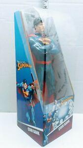 "Superman Hero Kids Coin Bank DC Comics 13"" NEW Man of Steel Collector Mint"