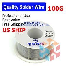 6337 Tin Rosin Core Flux 12mm Diameter Soldering Solder Wire 100g