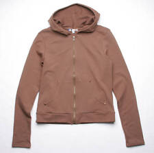 BEJEWELED BY SUSAN FIXEL COUTURE INDIGO HOODY (BROWN)