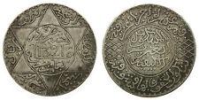 MOROCCO - MAROC Abdül Aziz I, 5 DIRHAMS 1321 H (1903) Paris
