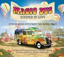 Magic Bus Summer of Love Various Artists 3xcd