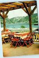 Restaurant Loreley Germany Raststatte Loreley Vintage 4x6 Postcard D83