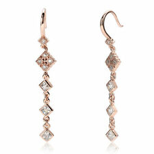 Handmade Cubic Zirconia Drop/Dangle Fashion Earrings