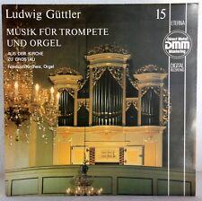 """12"""" Vinyl-LUDWIG GÜTTLER-musique pour trompette et orgue 15-Église à Crostau"""