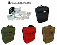 NEW Elite First Aid MOLLE Soldiers Tactical Medical IFAK Trauma KIT - SWAT BLACK