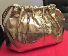 VINTAGE WOMEN'S GOLD SHOULDER BAG
