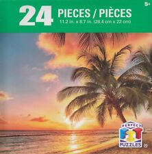 NEW Perfect FIT Puzzles 24 Piece Jigsaw Puzzle ~ Sunset